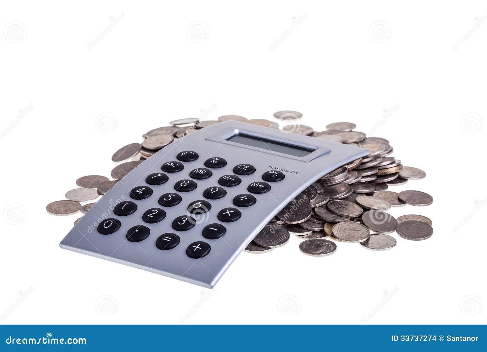 Монетки и калькулятор