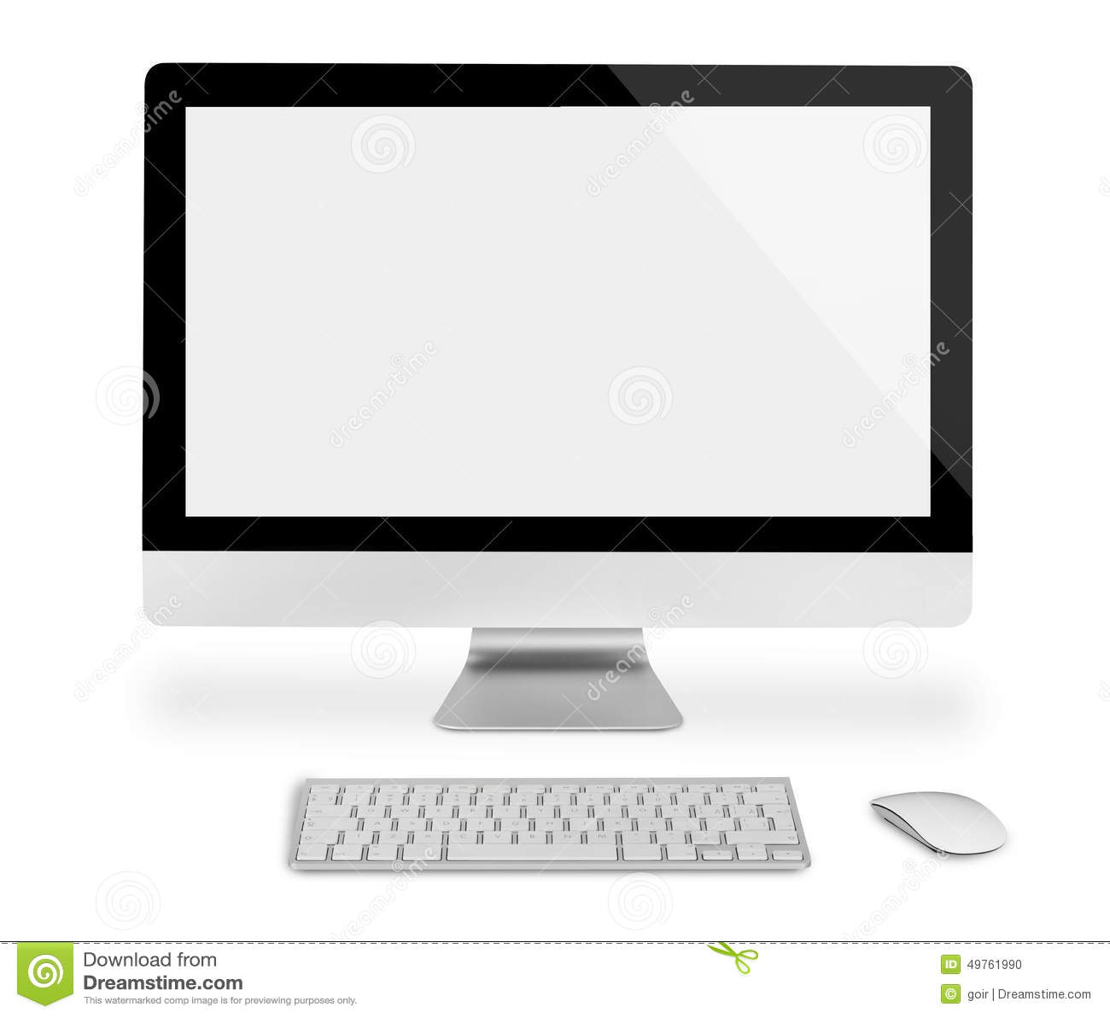 Клавиатура компьютера на экране монитора скачать