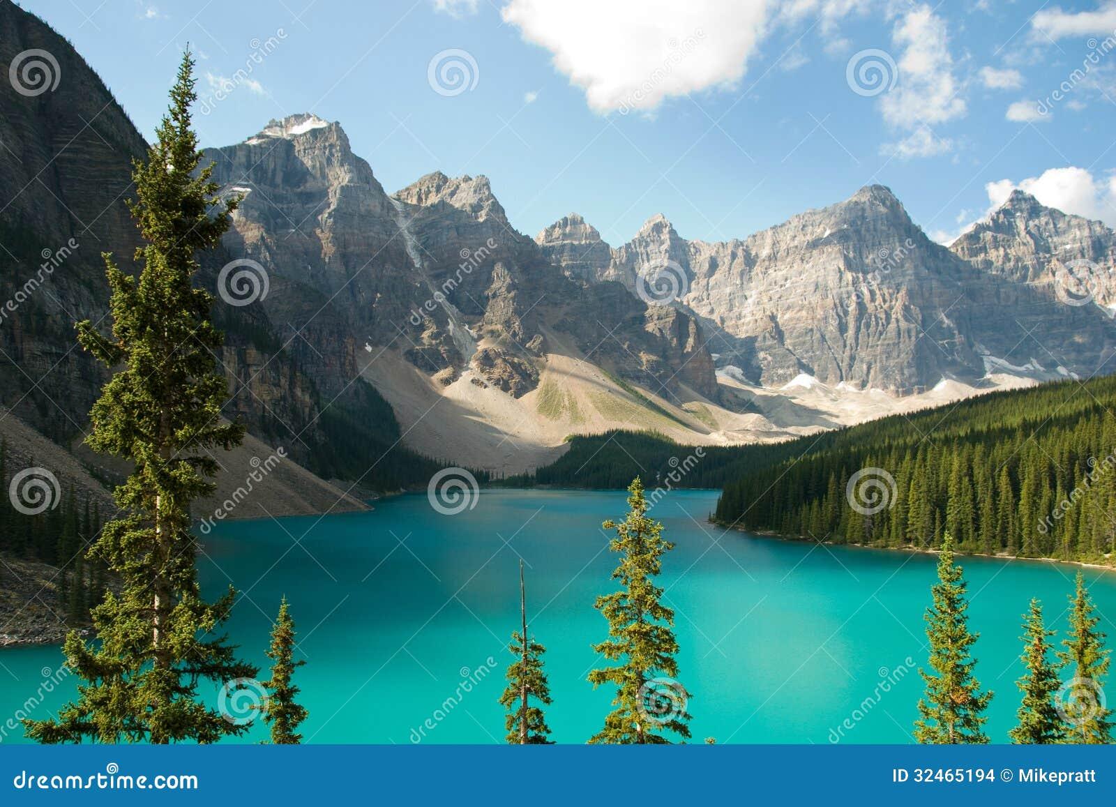 Морена Канада озера