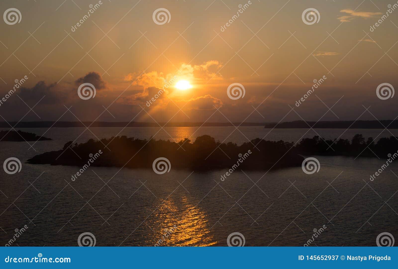 Море архипелага Финляндия приключение в Скандинавии