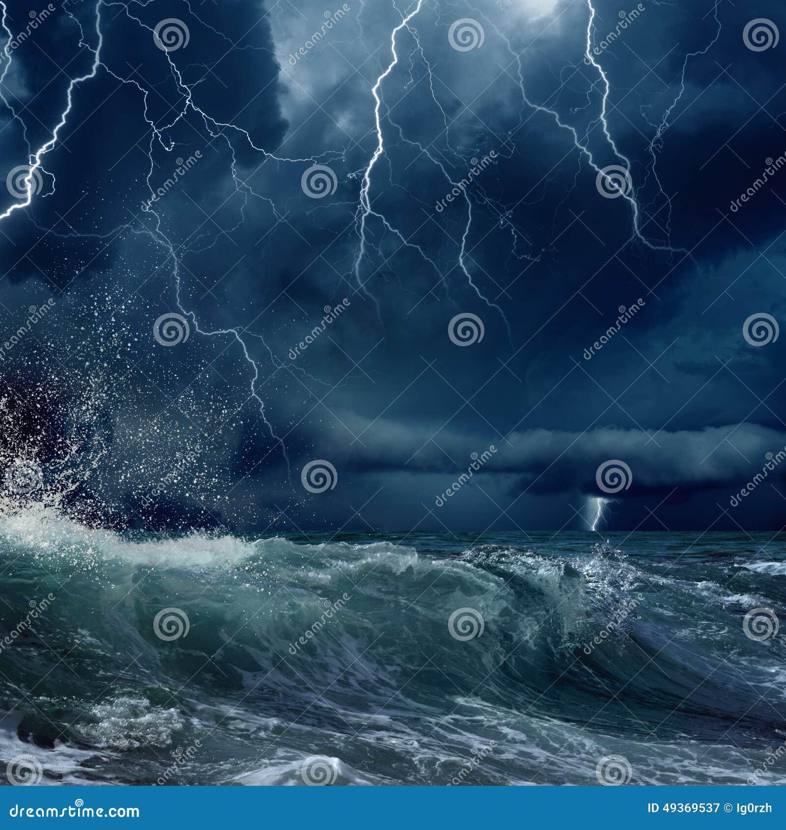 море бурное