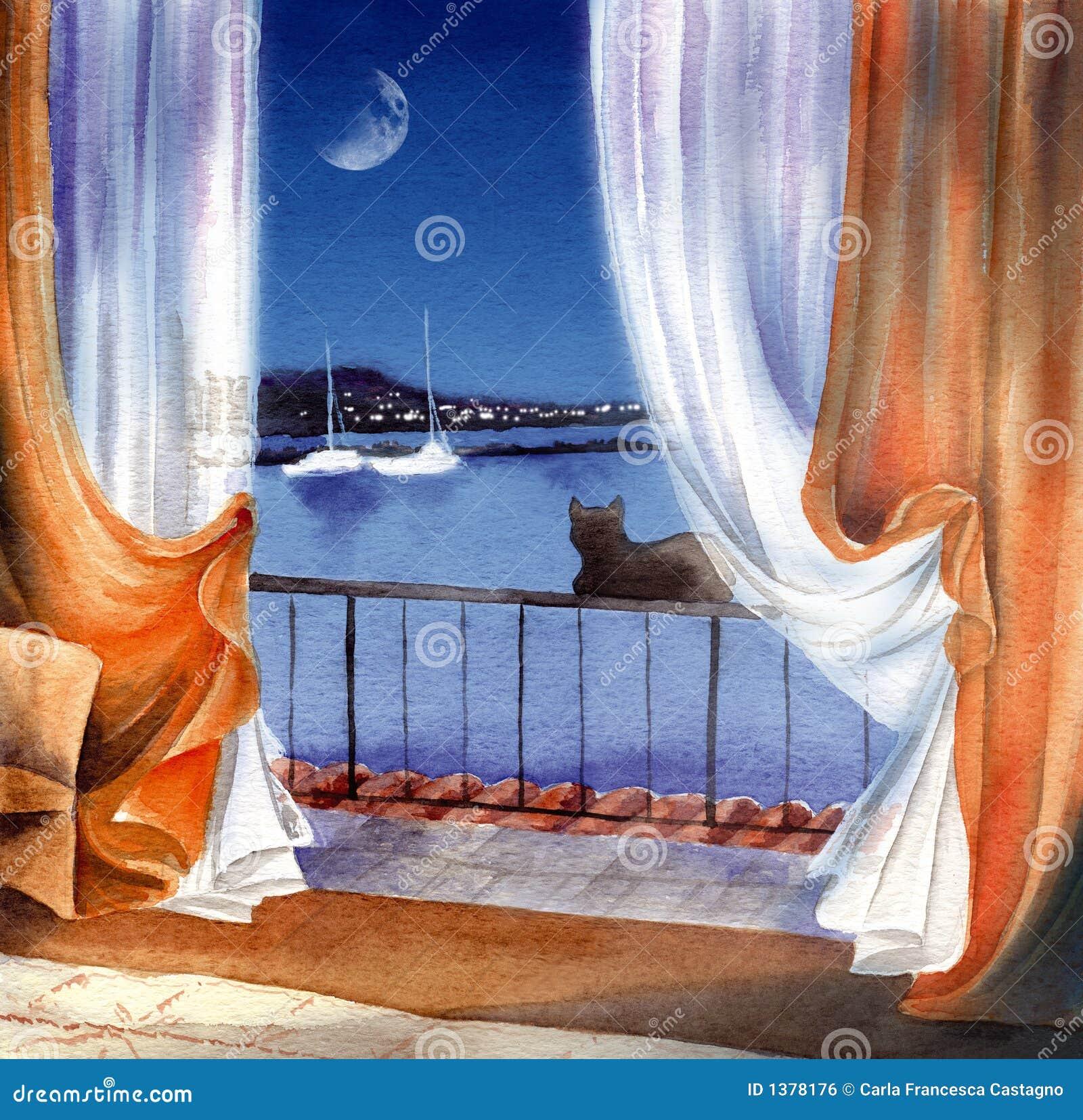 море ночи