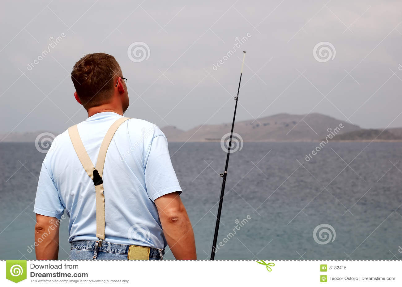 море рыболовства рыболова
