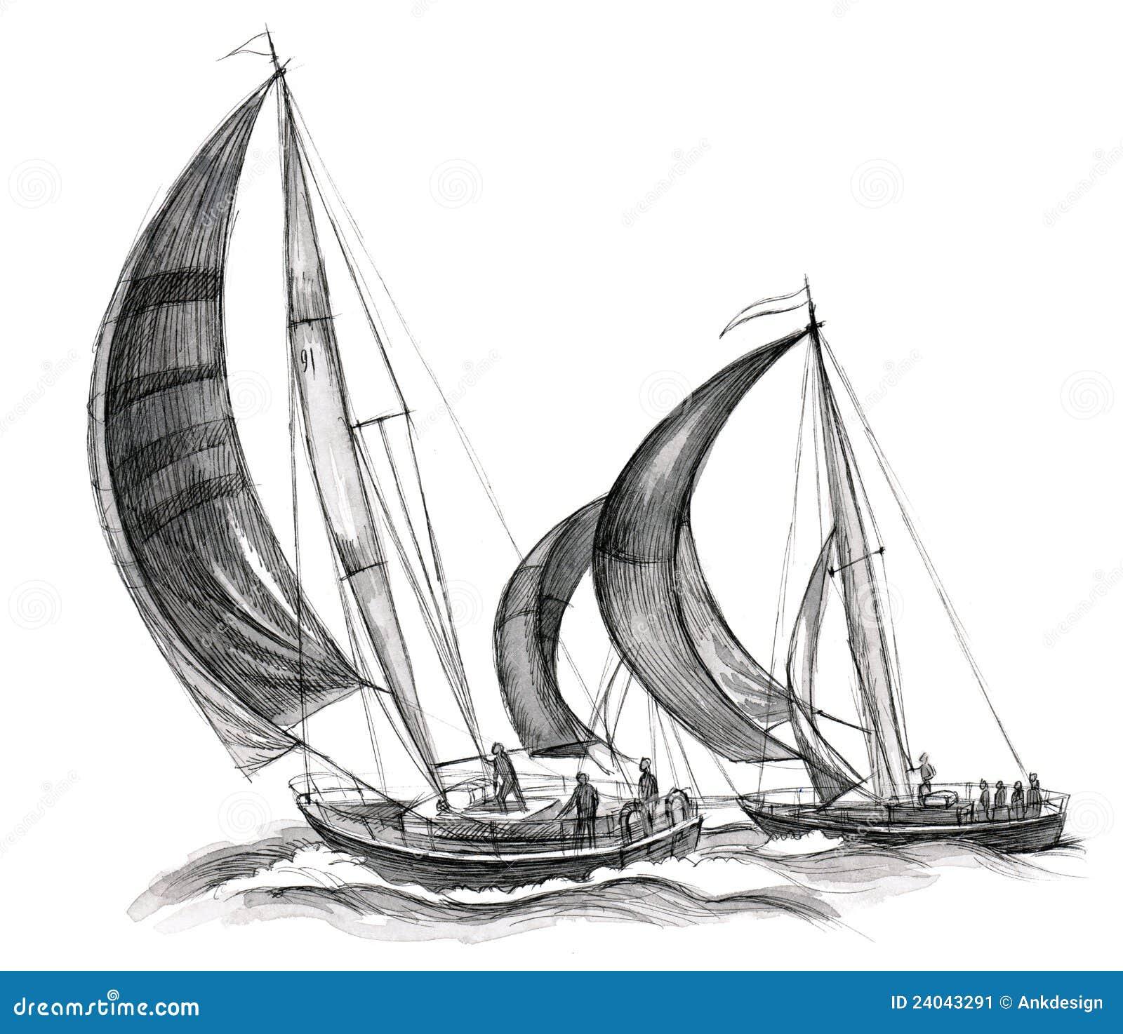 море шлюпок