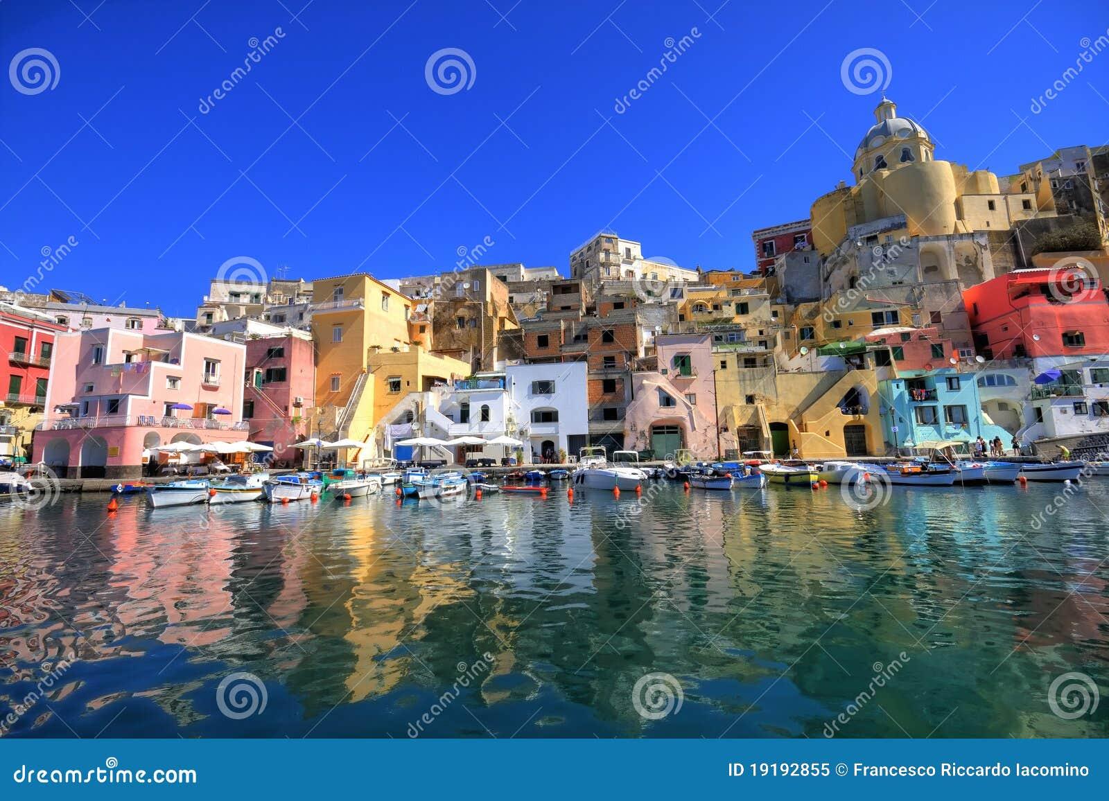 море procida naples свободного полета итальянское