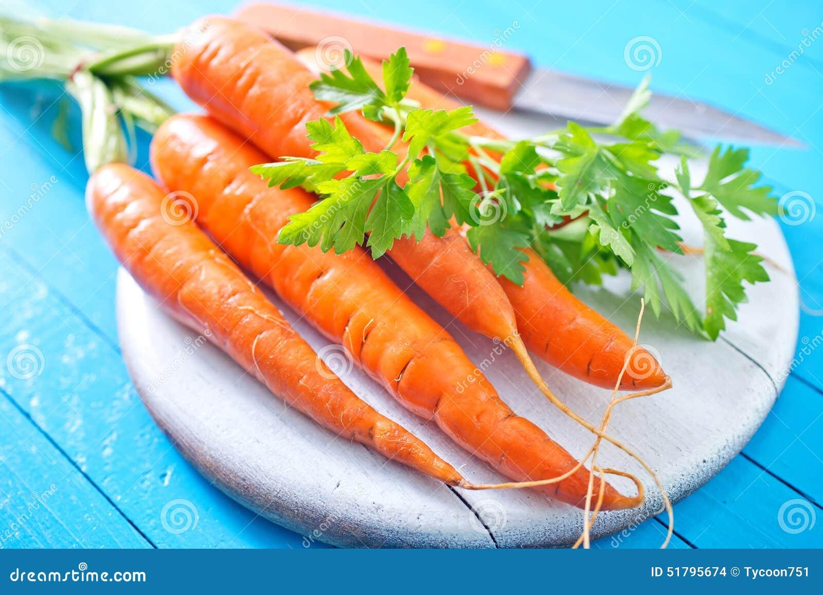 морковь сырцовая