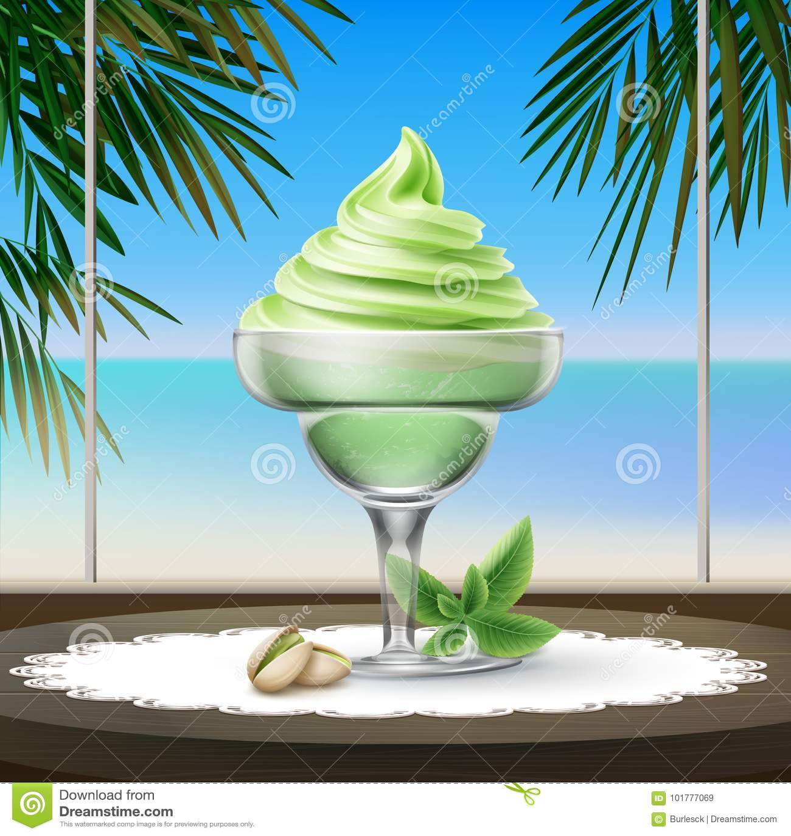 Мороженое Sundae