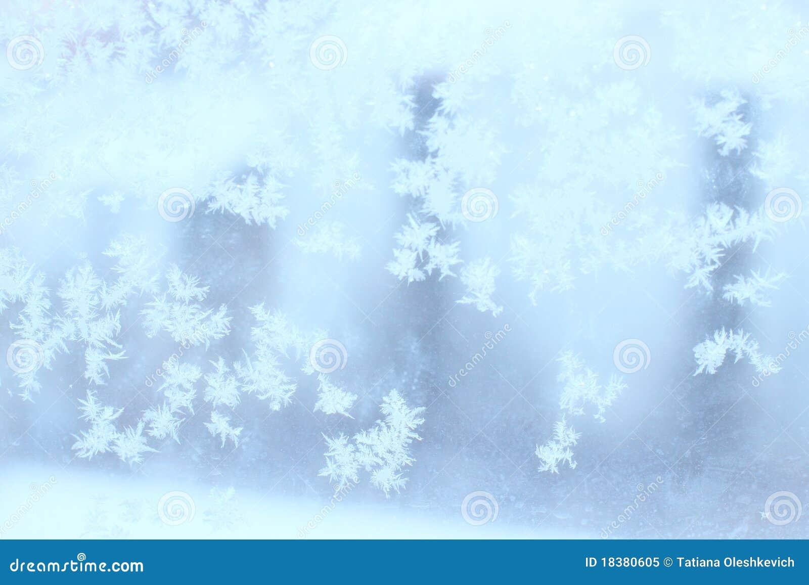морозная естественная зима окна картины