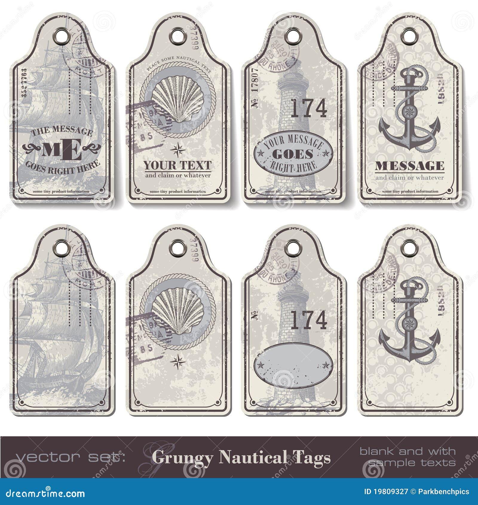 морские бирки