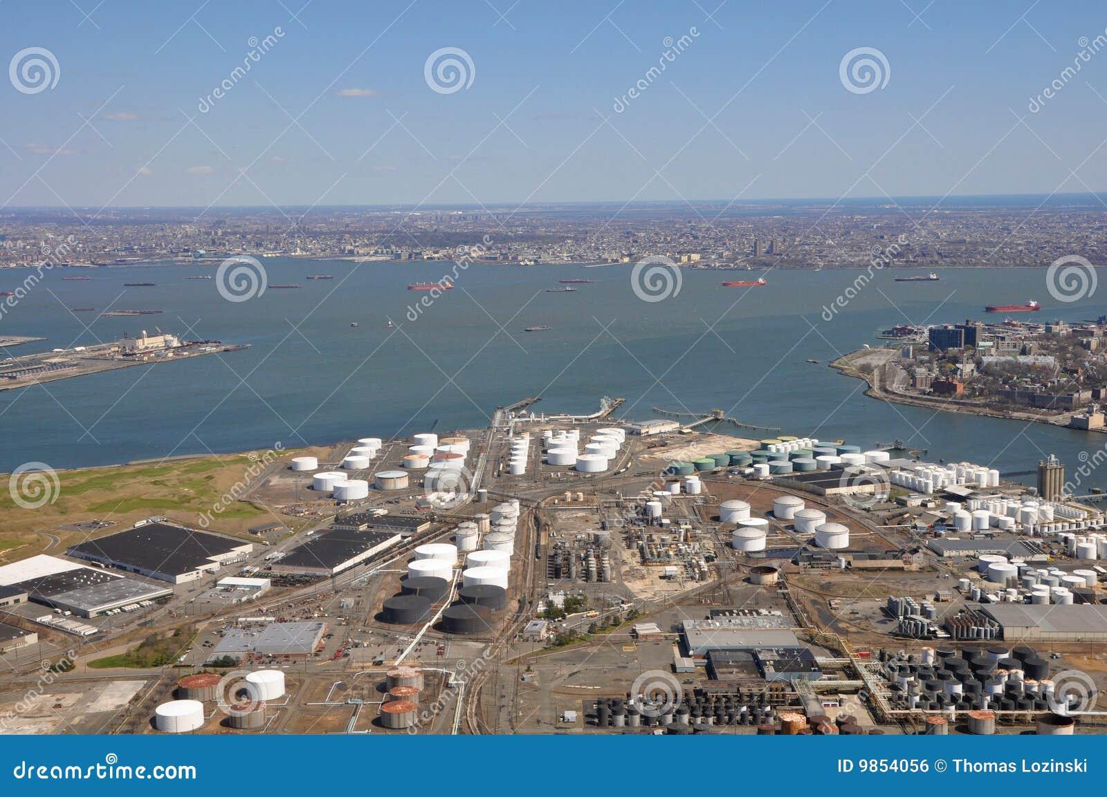 Морские порты антенны Гудзона