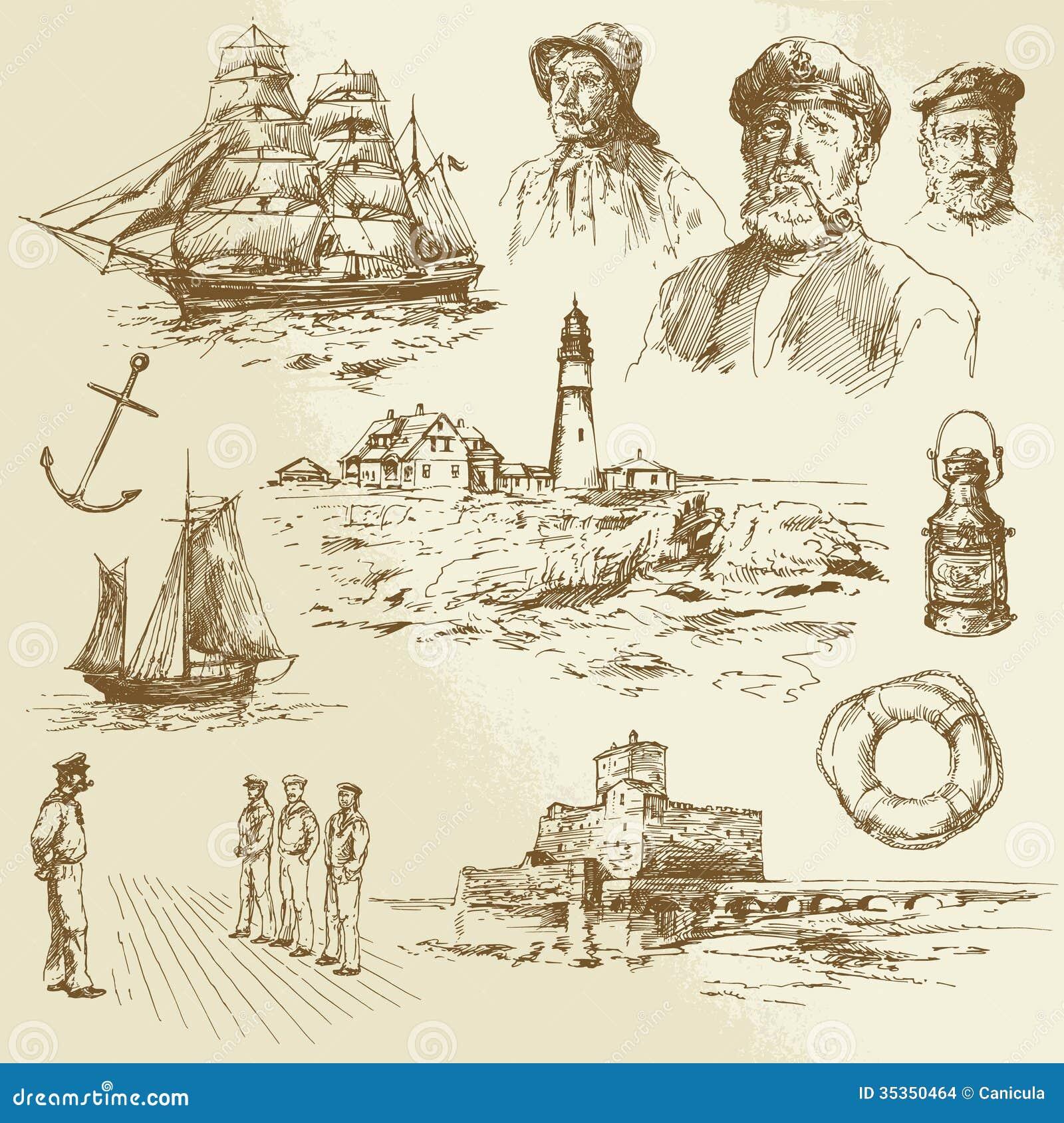 Морские элементы