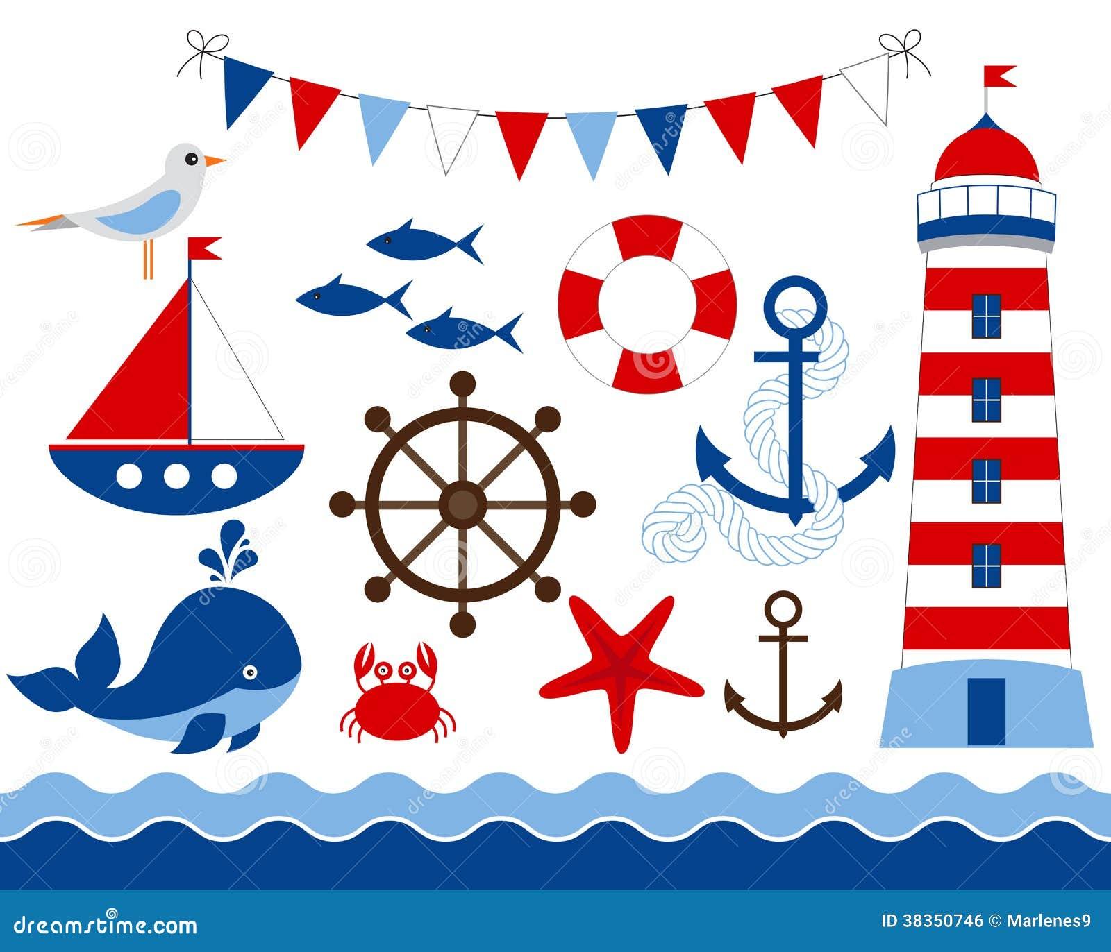 Морская тематика рисованные картинки