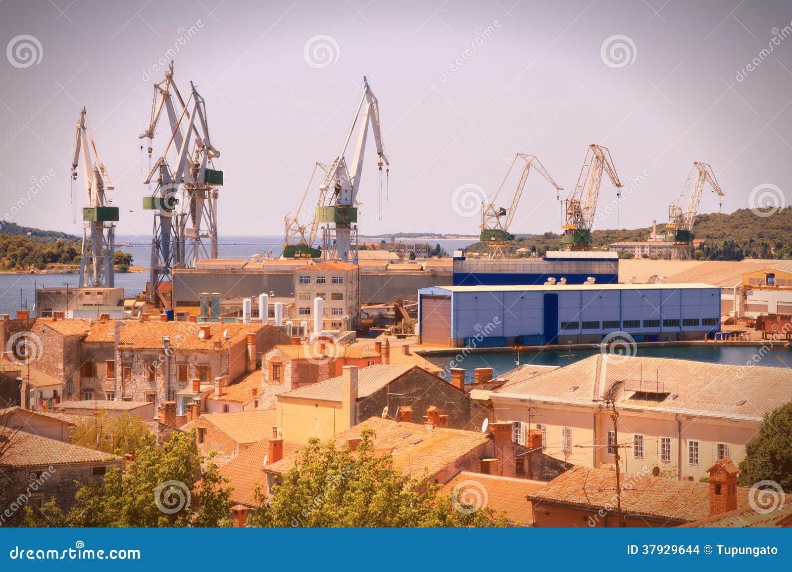 Морской порт в Хорватии