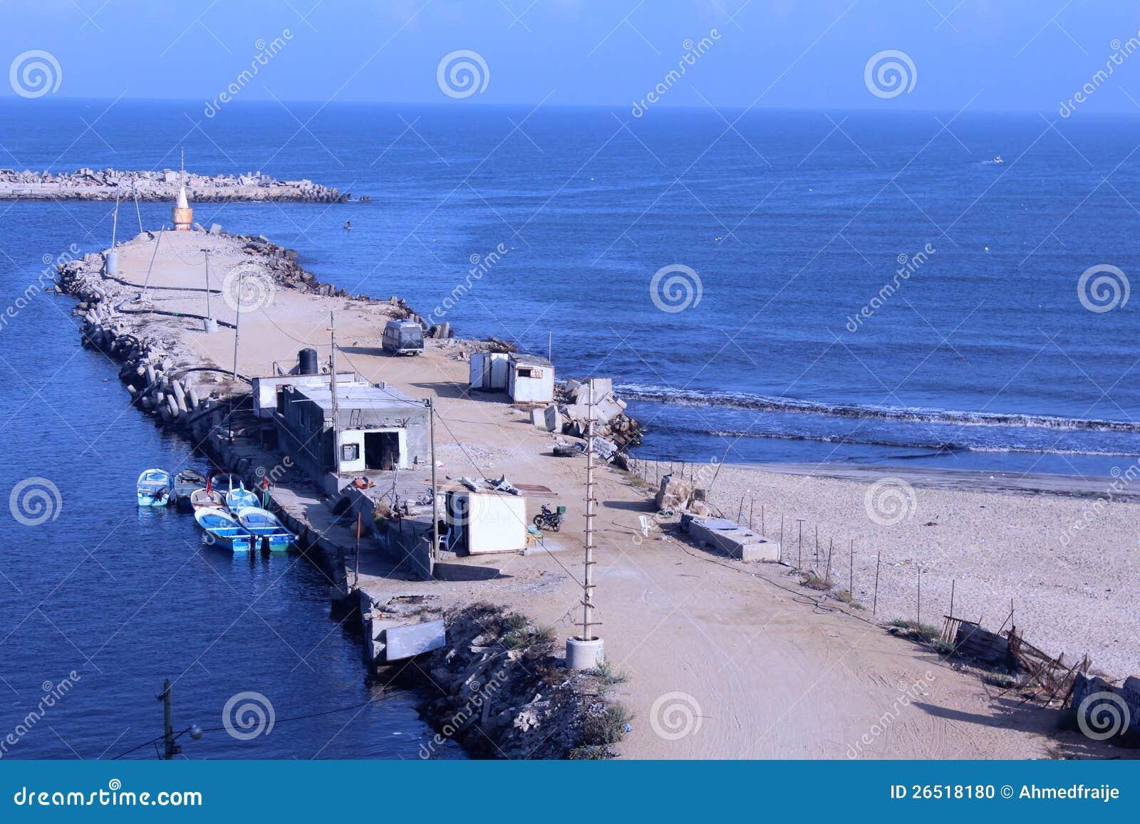 Морской порт Газа