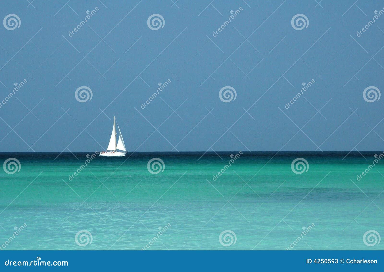 моря sailing определяют тропическую яхту