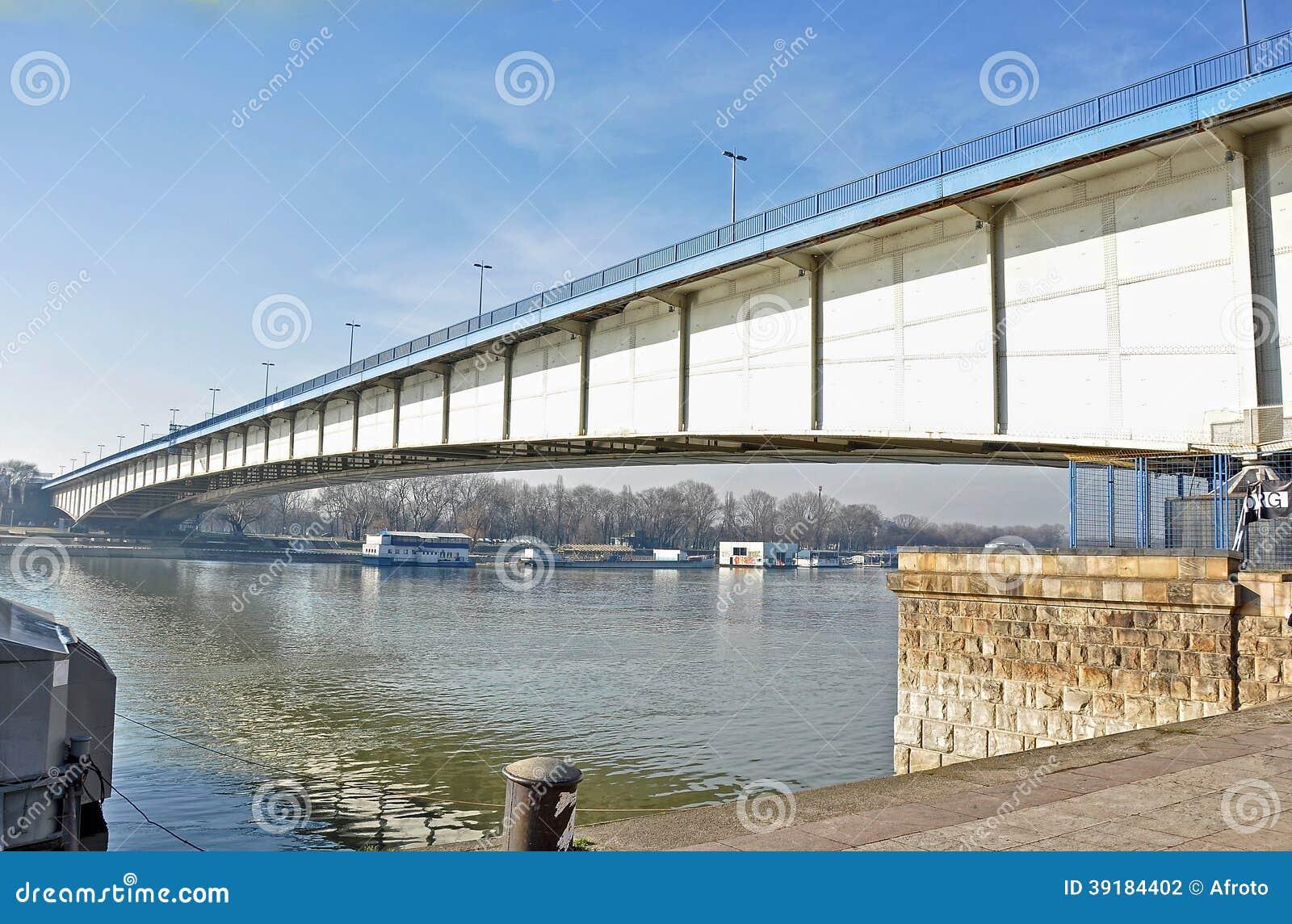 Мост города