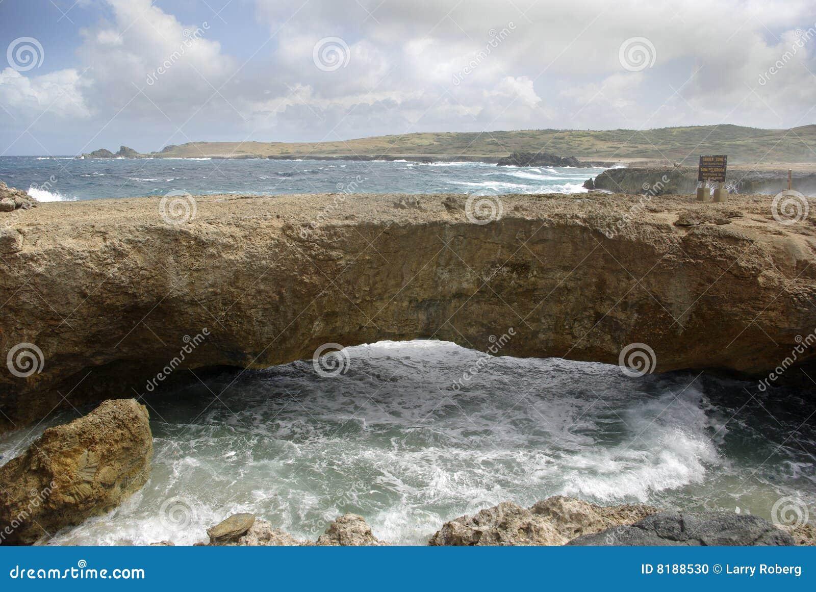 мост естественный
