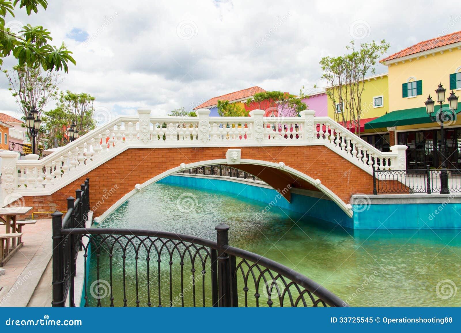 Мост над каналом