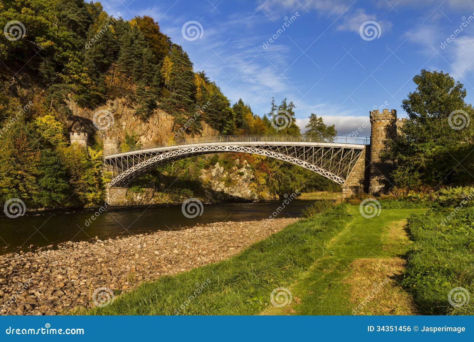 Мост Томаса Telford Craigellachie