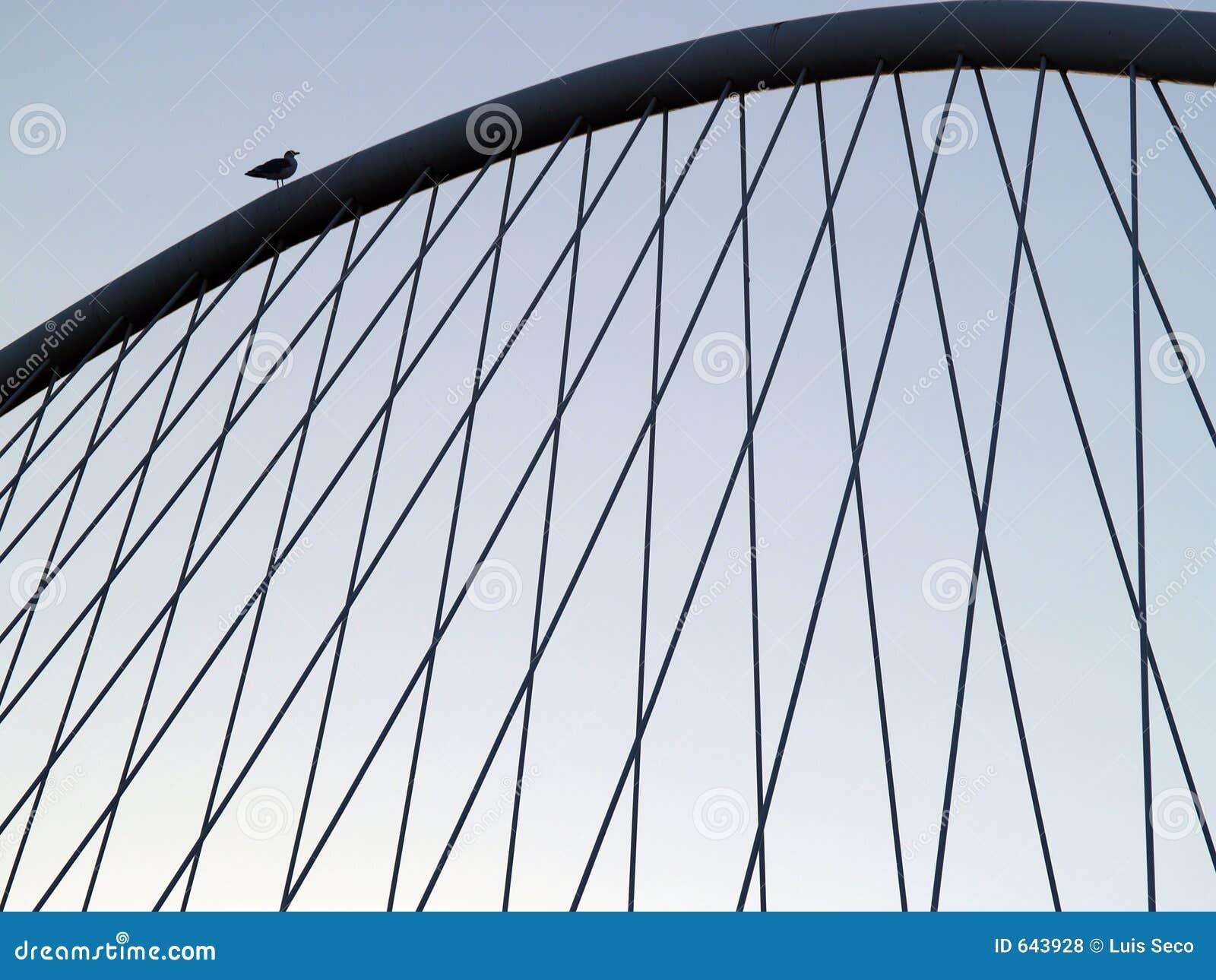 Download мост bilbao стоковое фото. изображение насчитывающей горизонтально - 643928