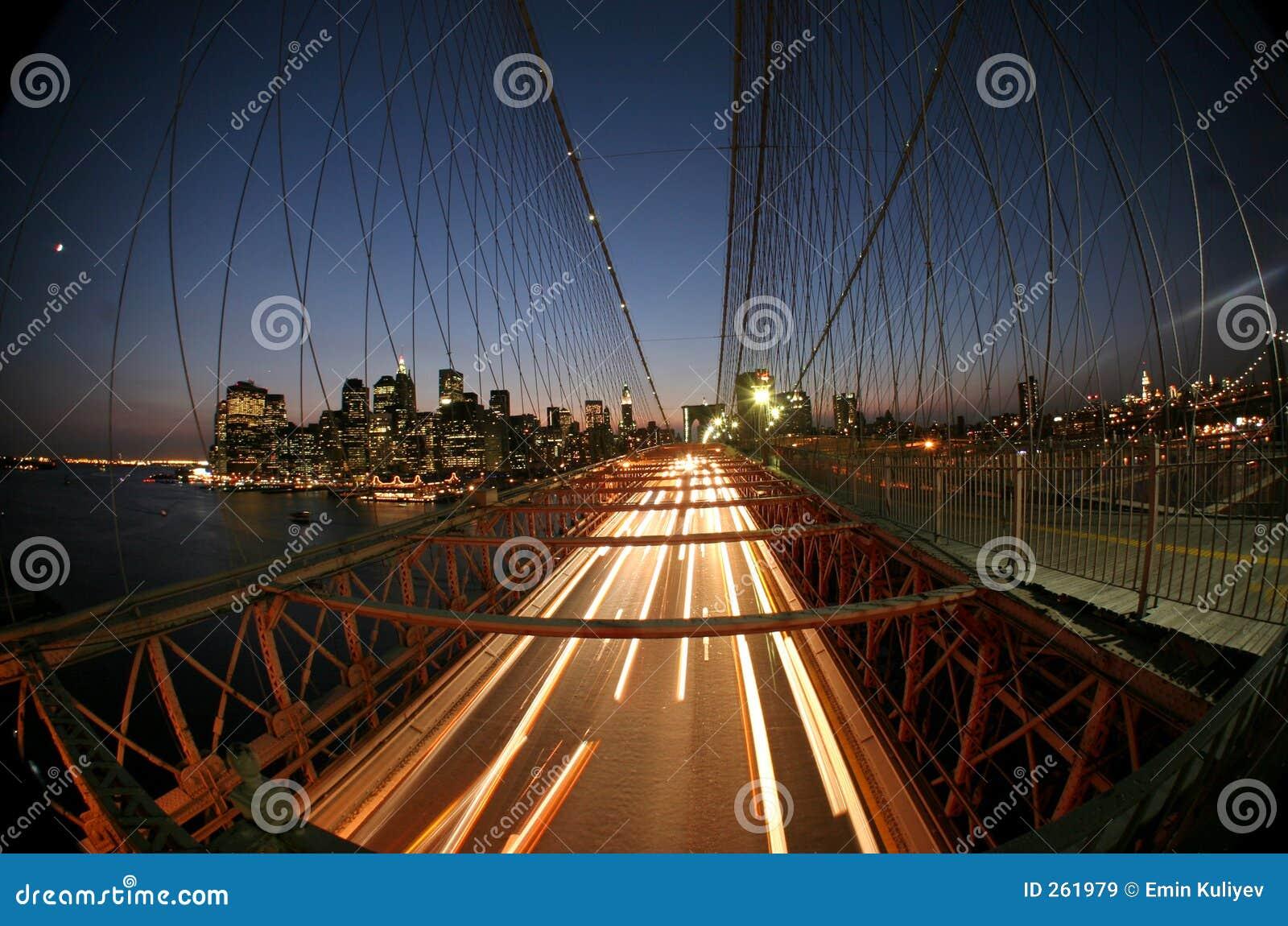мост brooklyn New York