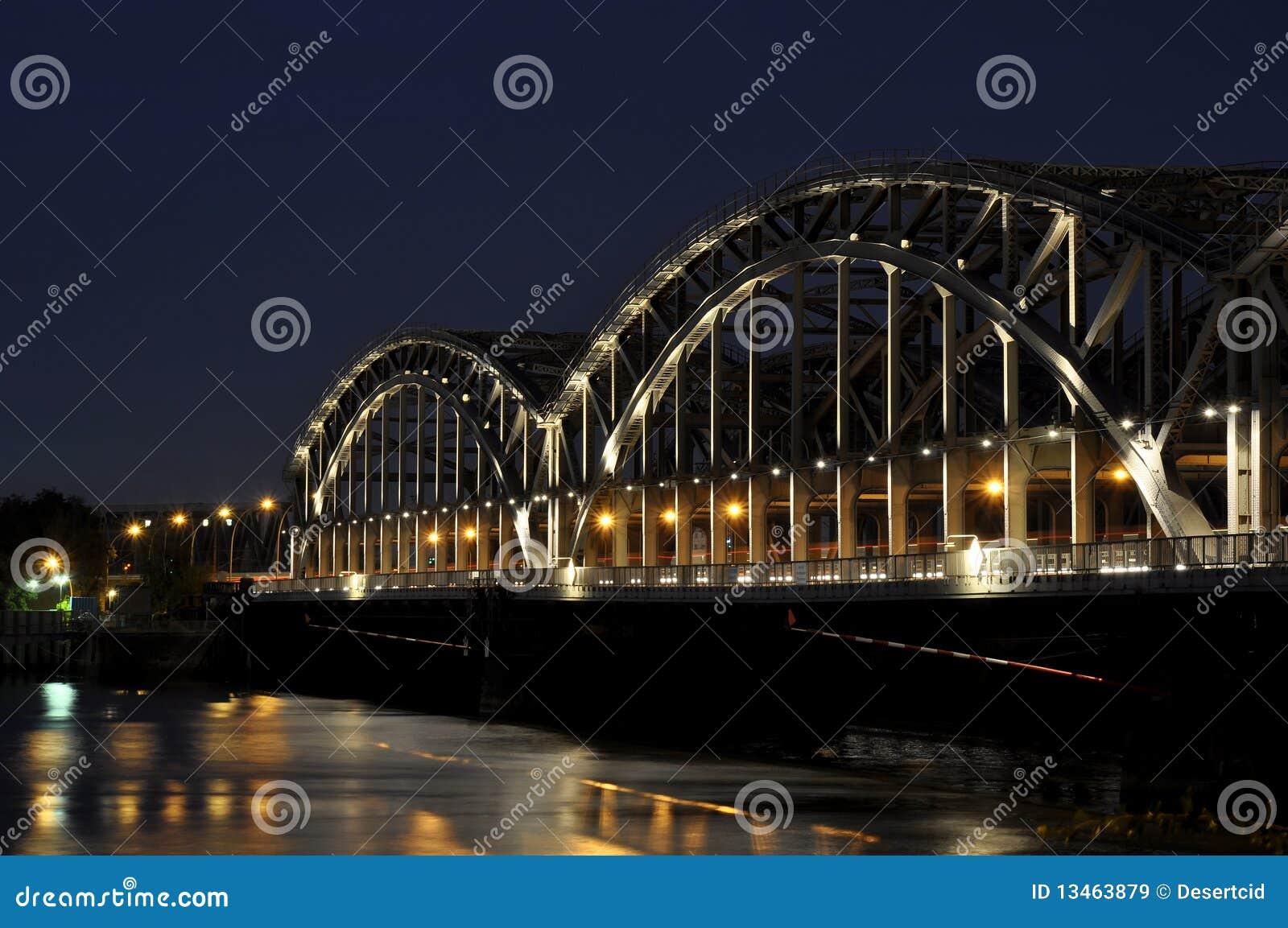 мост hamburg