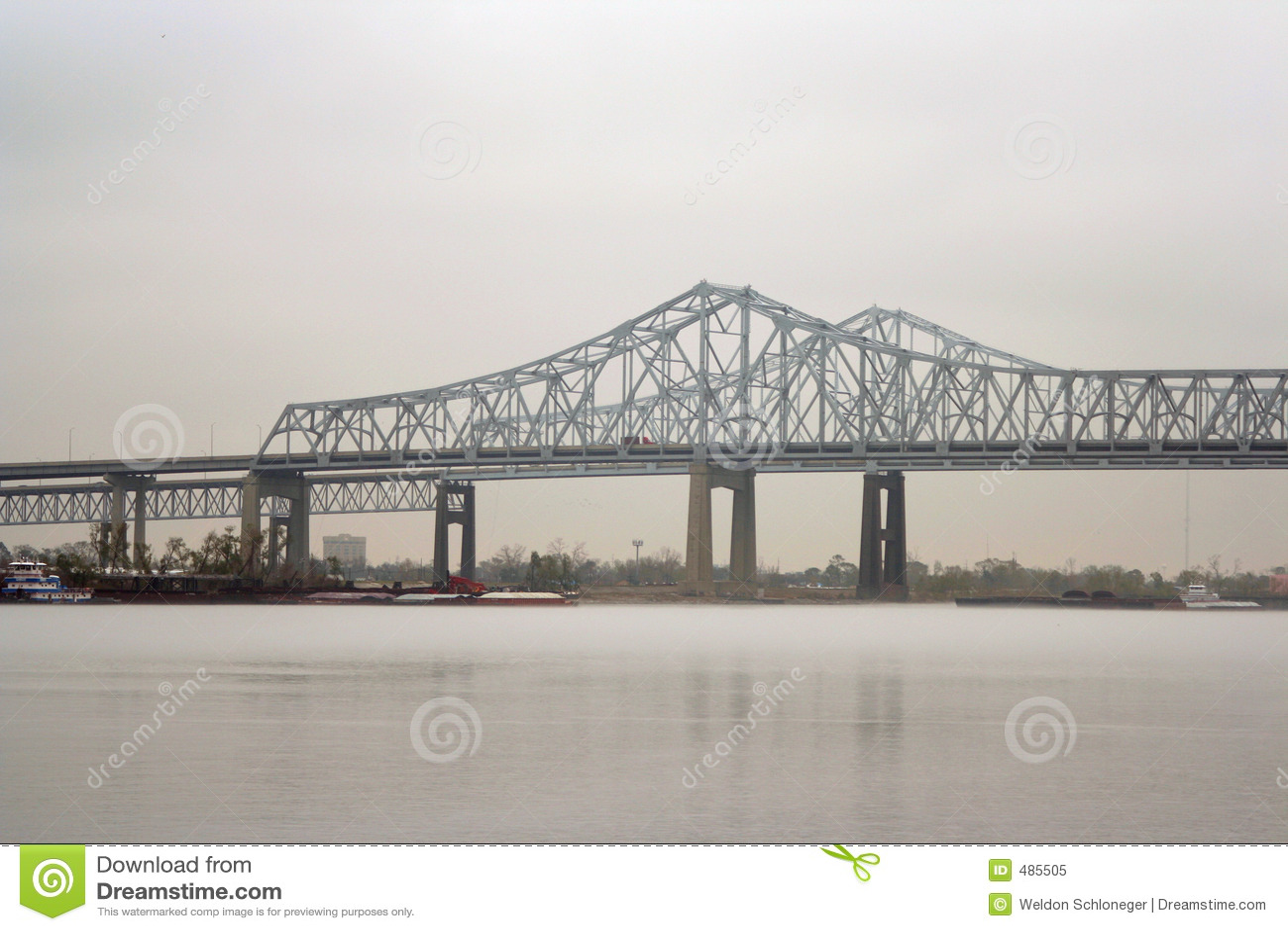 мост New Orleans