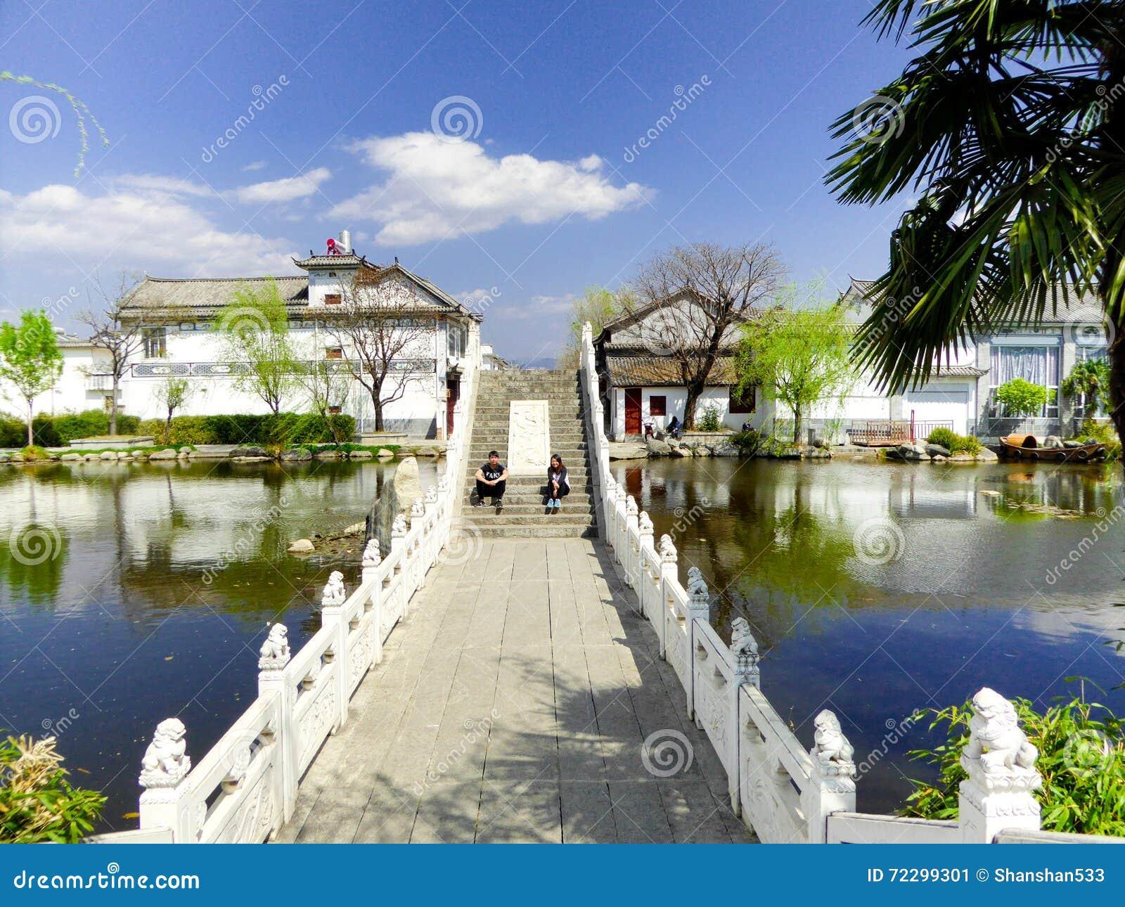 Download Мост XiZhou редакционное фото. изображение насчитывающей селитебно - 72299301