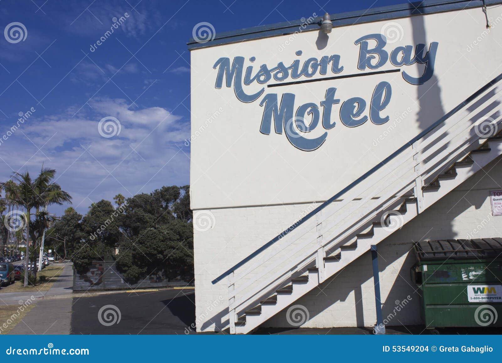 Мотель залива полета в Сан-Диего