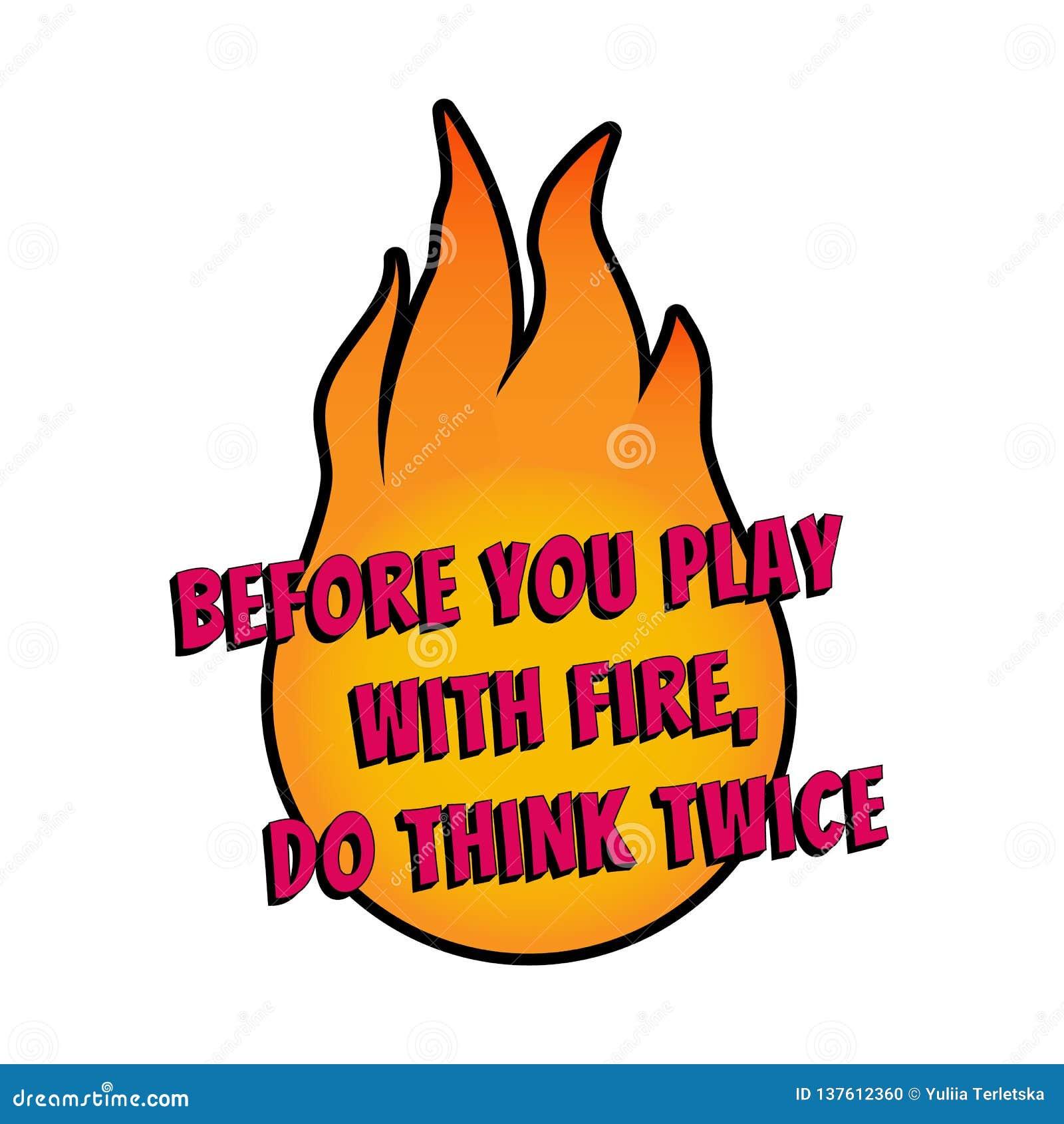 Мотивационное высказывание для плакатов и карточек Положительный лозунг Футболка огня desing