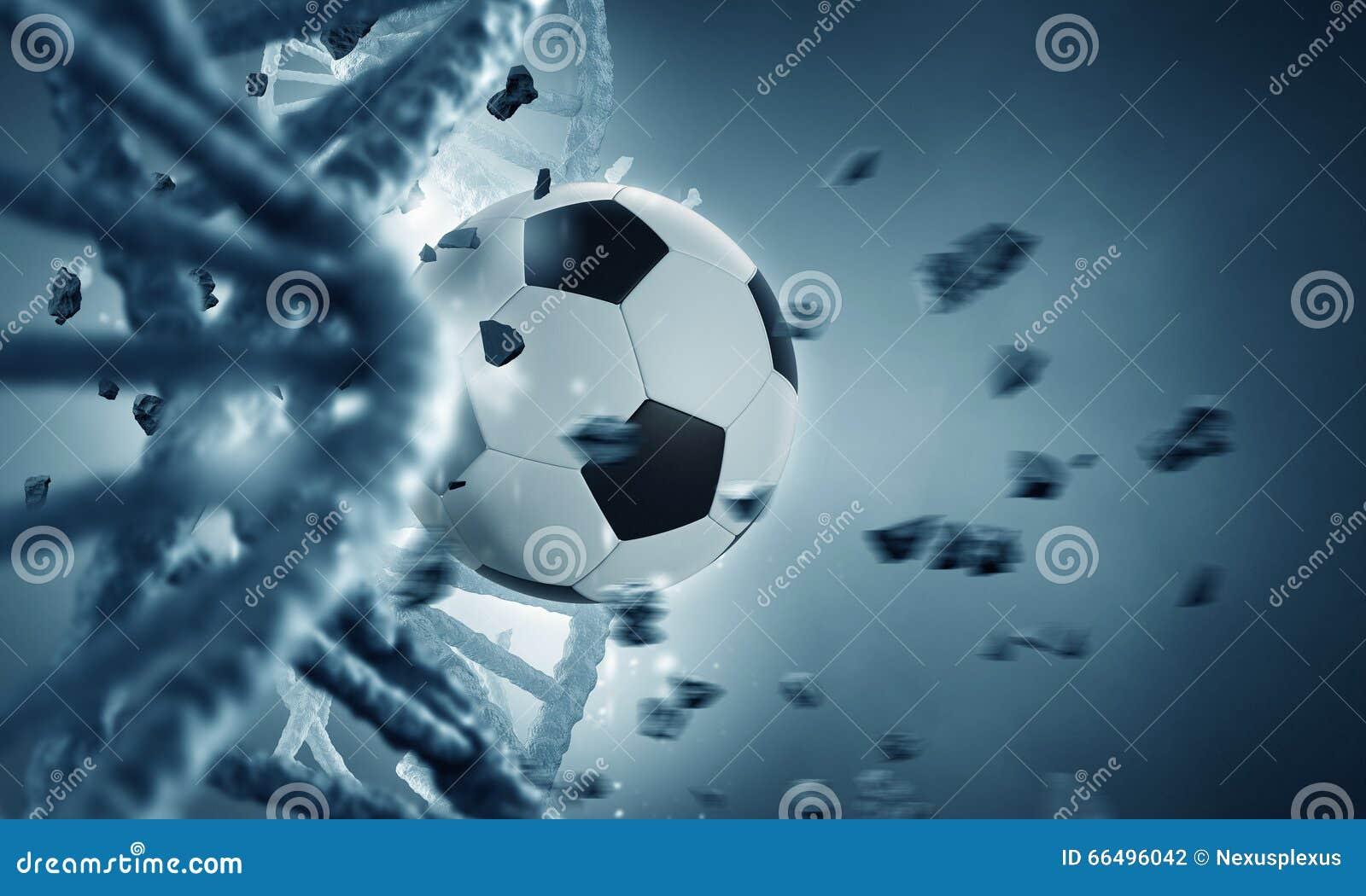 Молекула и шарик дна