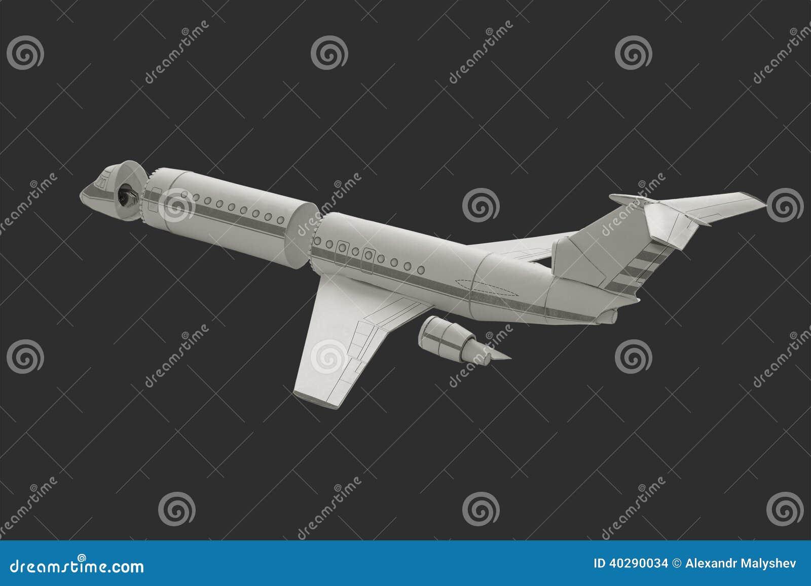 Модельный самолет.