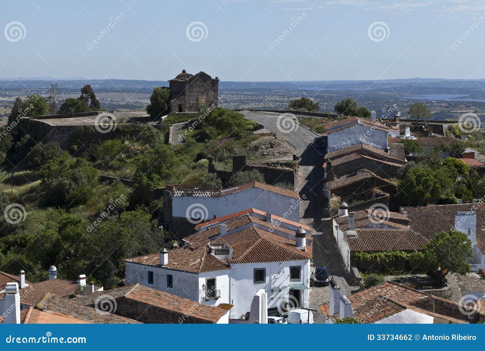 Часовня бенто Sao в Monsaraz, Португалии