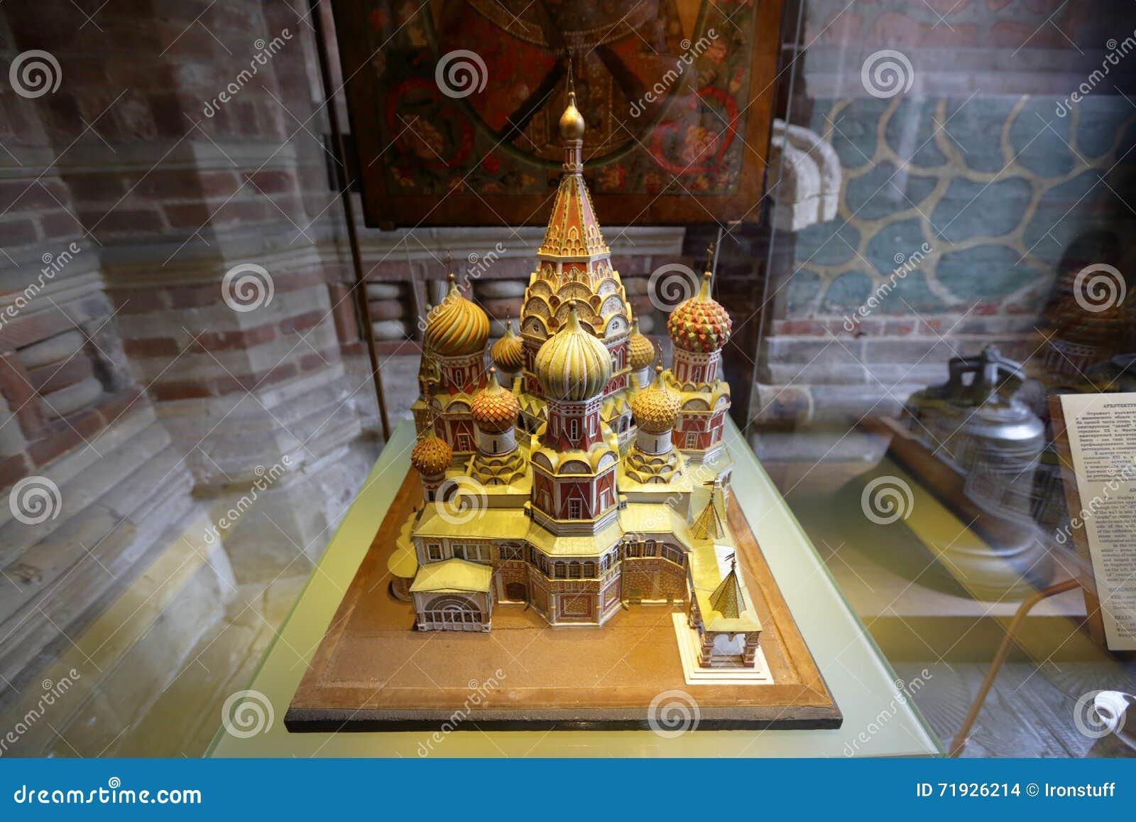 Модель собора базилика St в Москве