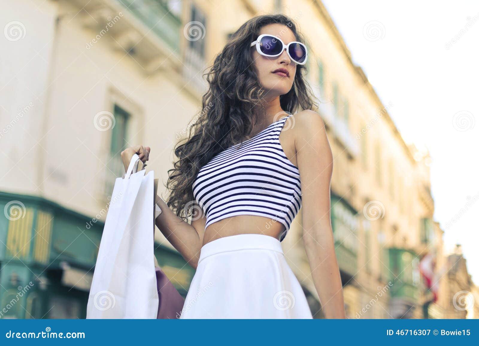 девушка модная картинки