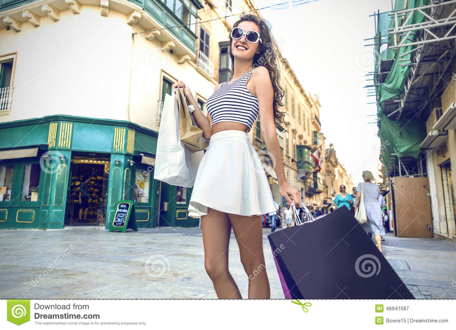 фото девушка модная