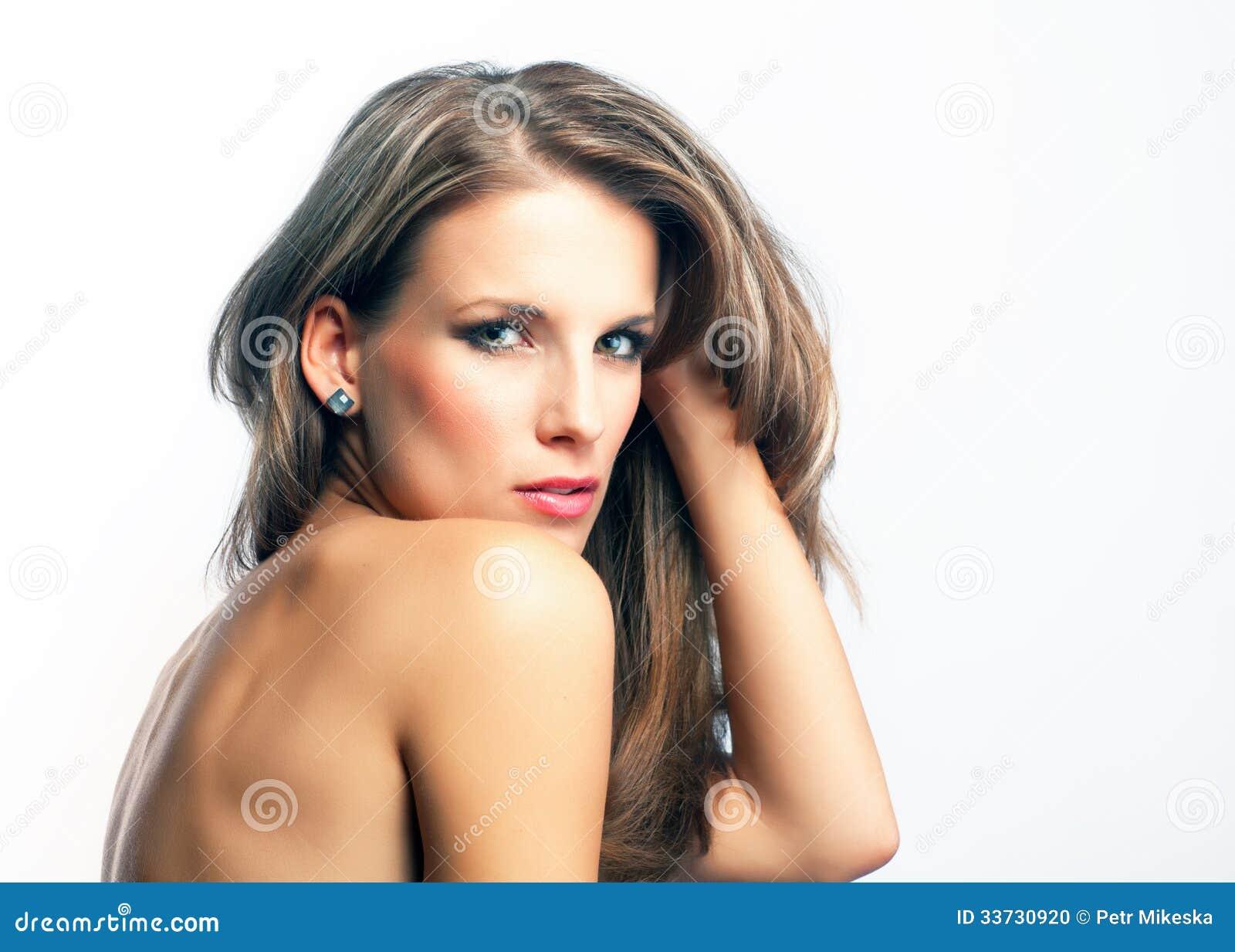 Молодая привлекательная женщина