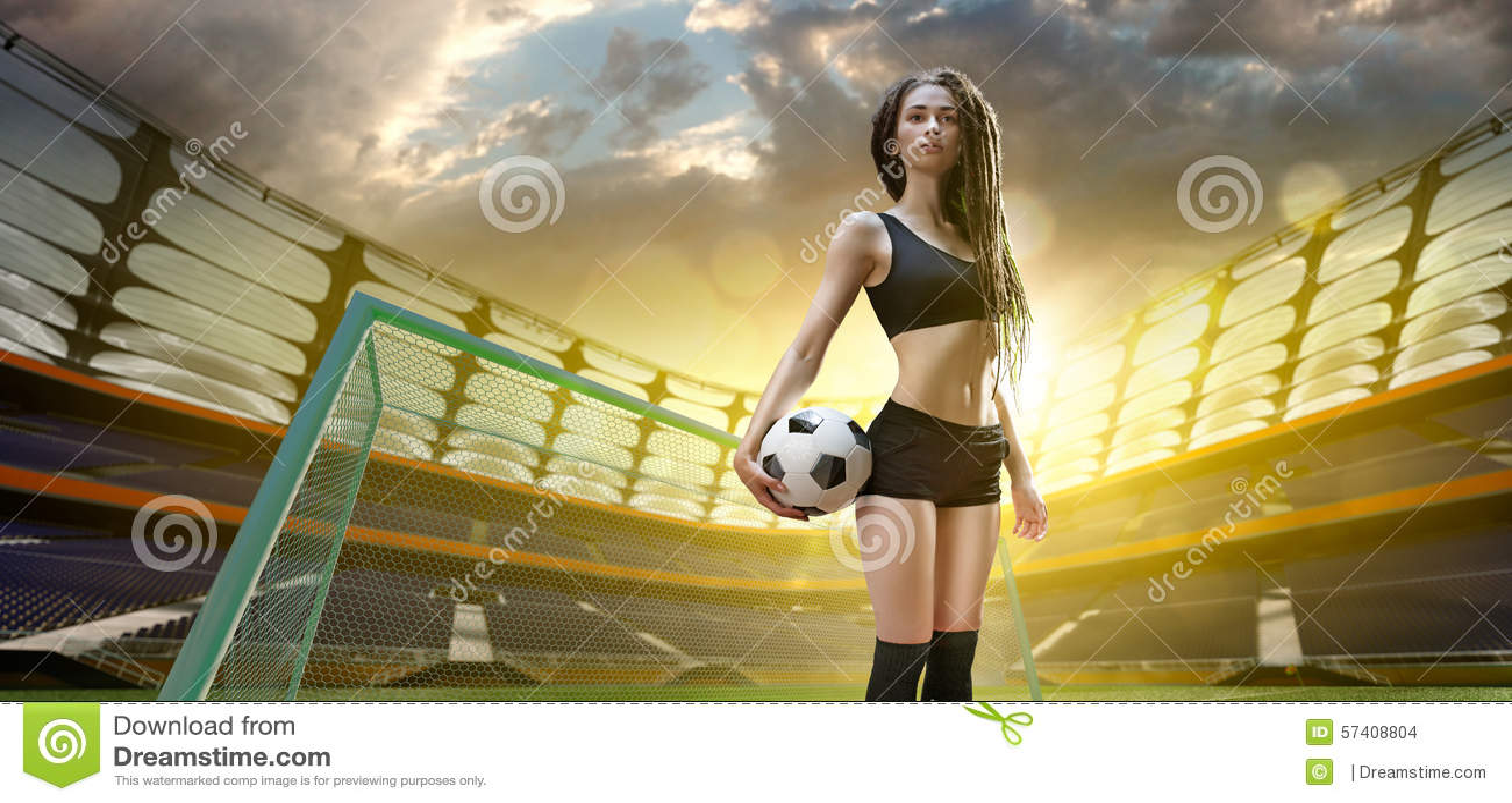 Женский сексуальный футбол