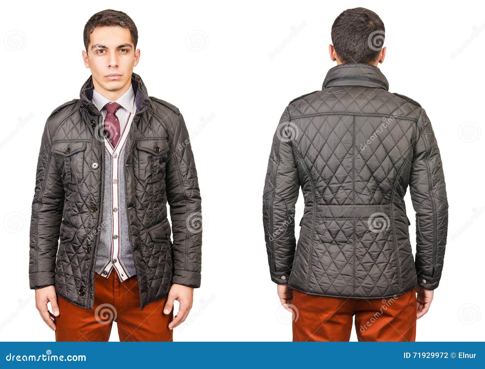 Молодой человек в концепции моды изолированный на белизне