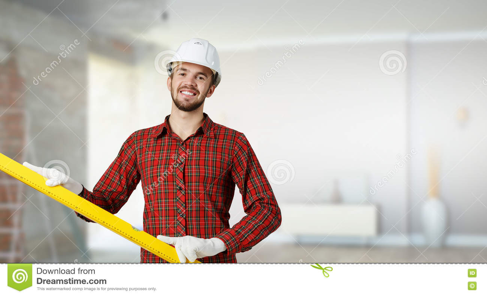 Download Молодой человек инженера стоковое фото. изображение насчитывающей оборудование - 72283568