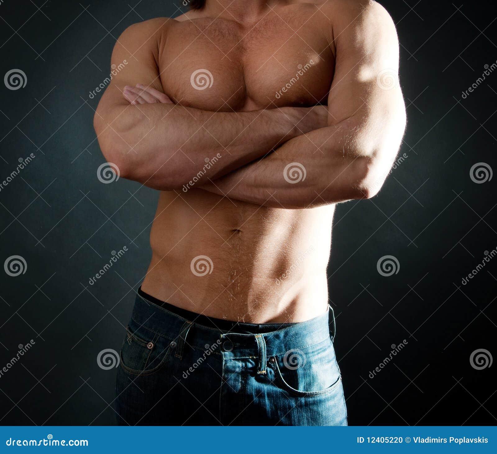 Сексуальние тела мужчины