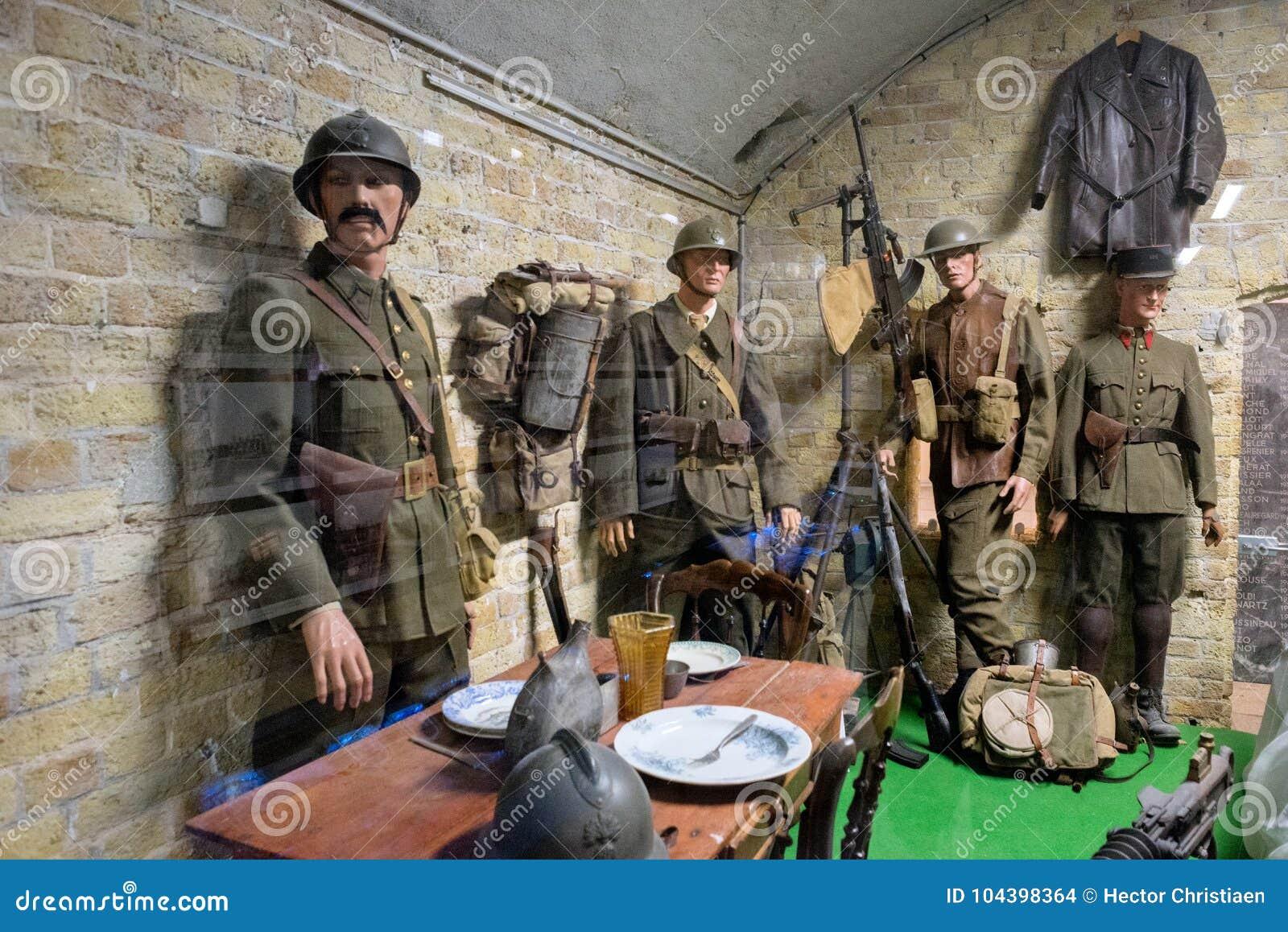Музей 1940 Дюнкерка показывает сражение Дюнкерка
