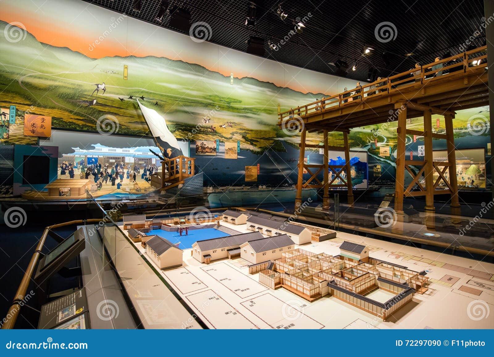 Download Музей Осака истории редакционное изображение. изображение насчитывающей строя - 72297090