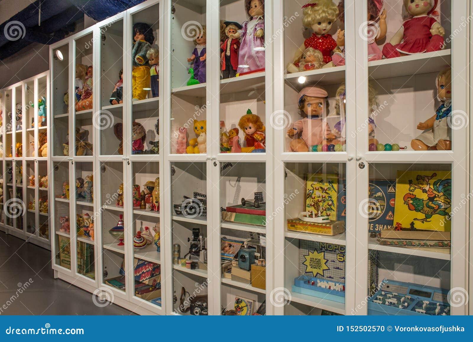 Музей советских игрушек в магазине Москве России центральных детей
