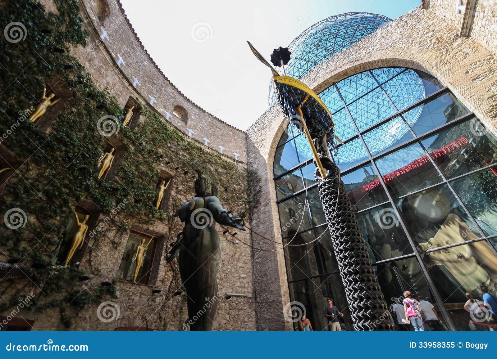 Музей Dali в Фигерасе, Испании
