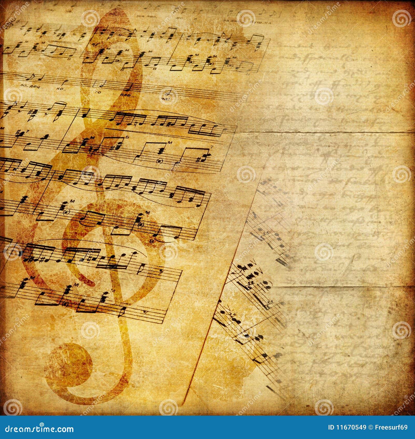 музыкальная бумага