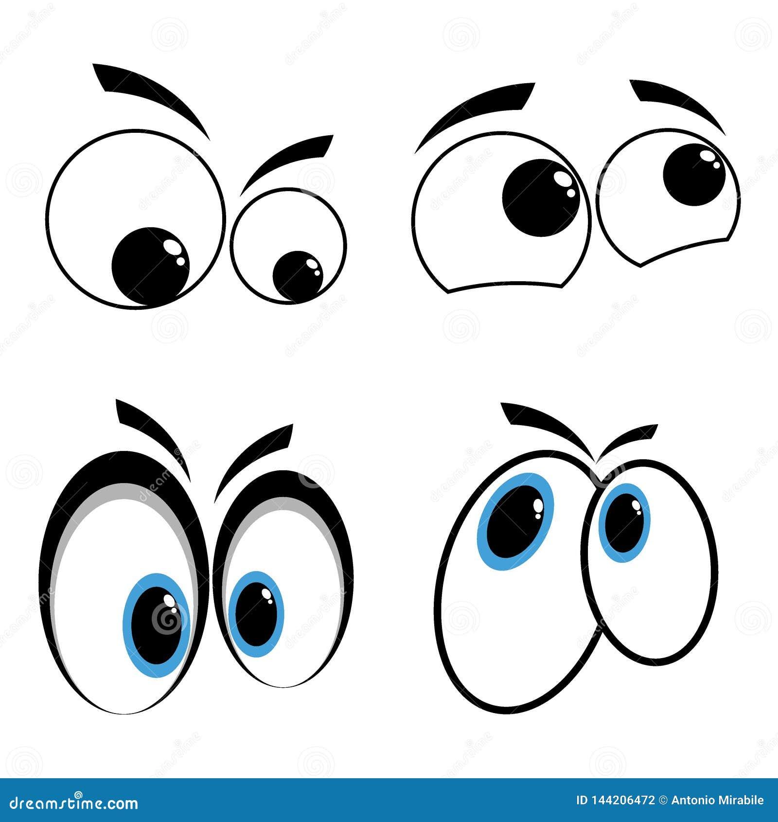 мультфильм глаз