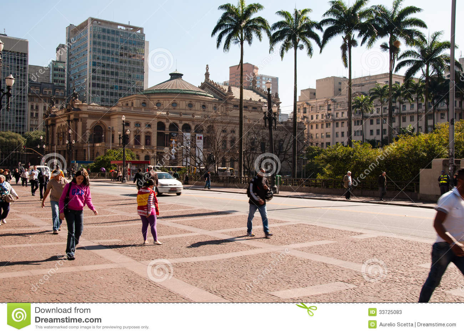 Муниципальный театр Сан-Паулу