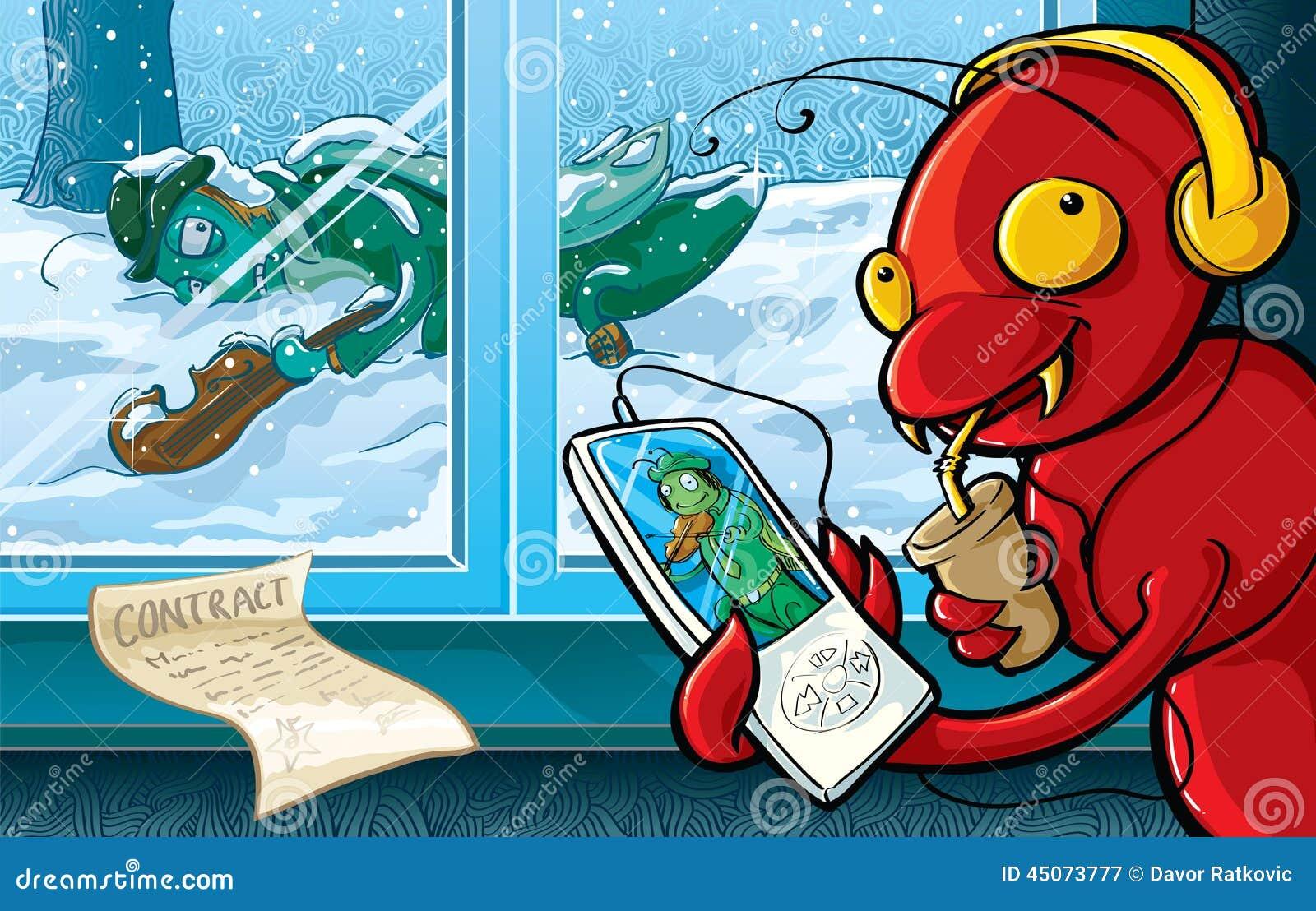 принципиальная схема на муравей