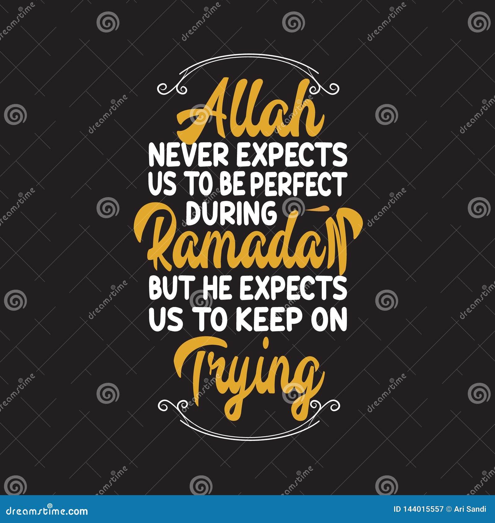 Мусульманские торжество, цитата Рамазан и говорить хорошее для дизайна печати